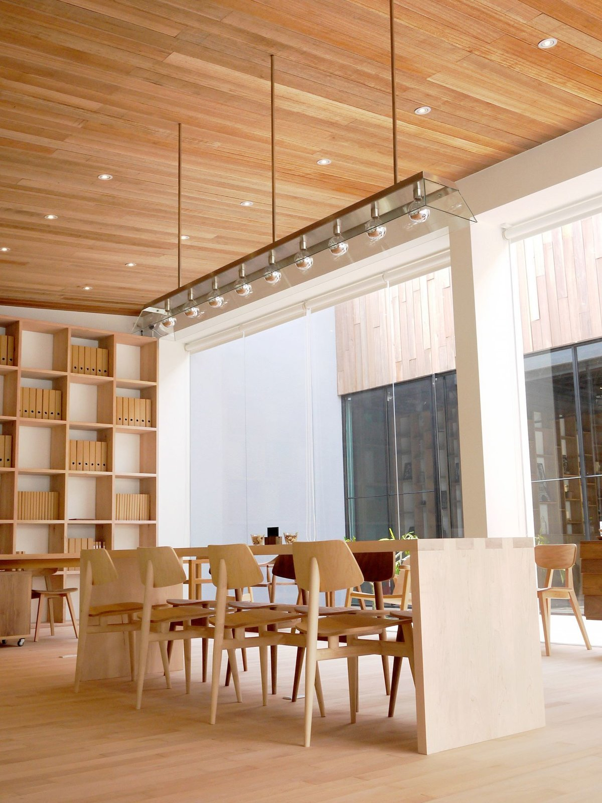 Taiwanese brand RÜSKASA features minimalist wooden furniture which is all locally designed and hand-crafted using traditional Taiwanese techniques.  Photo 4 of 14 in Visit 12 Design-Centric Stops in the Asian Metropolis of Taipei