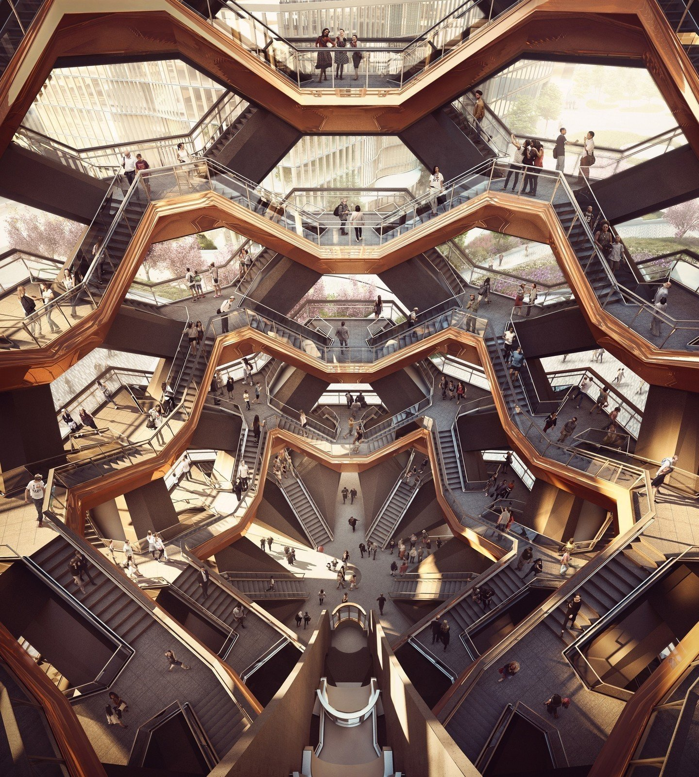 Photo 2 of 4 in A New Kind of Public Landmark: New York's Interactive Centerpiece by Heatherwick Studio