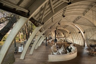 Eco-Friendly Safari Lodge in Africa's Okavango Delta