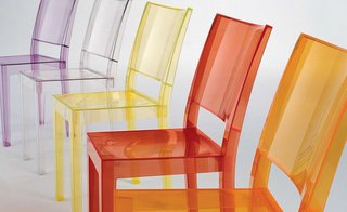Karim Rashid Picks the Top 4 Luxury Plastic Chairs - Photo 2 of 3 - The La Marie Chair was designed by Philippe Starck in 2002 for Kartell and is made out of a polycarbonate mold.