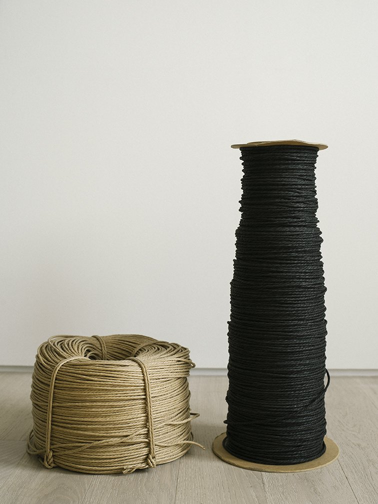 Woven paper cord is a natural, cool, comfortable, and durable material. The variety that Carl Hansen & Søn employs is treated with a thin layer of wax, which helps to prevent stains.  Photo 3 of 12 in Warp Speed