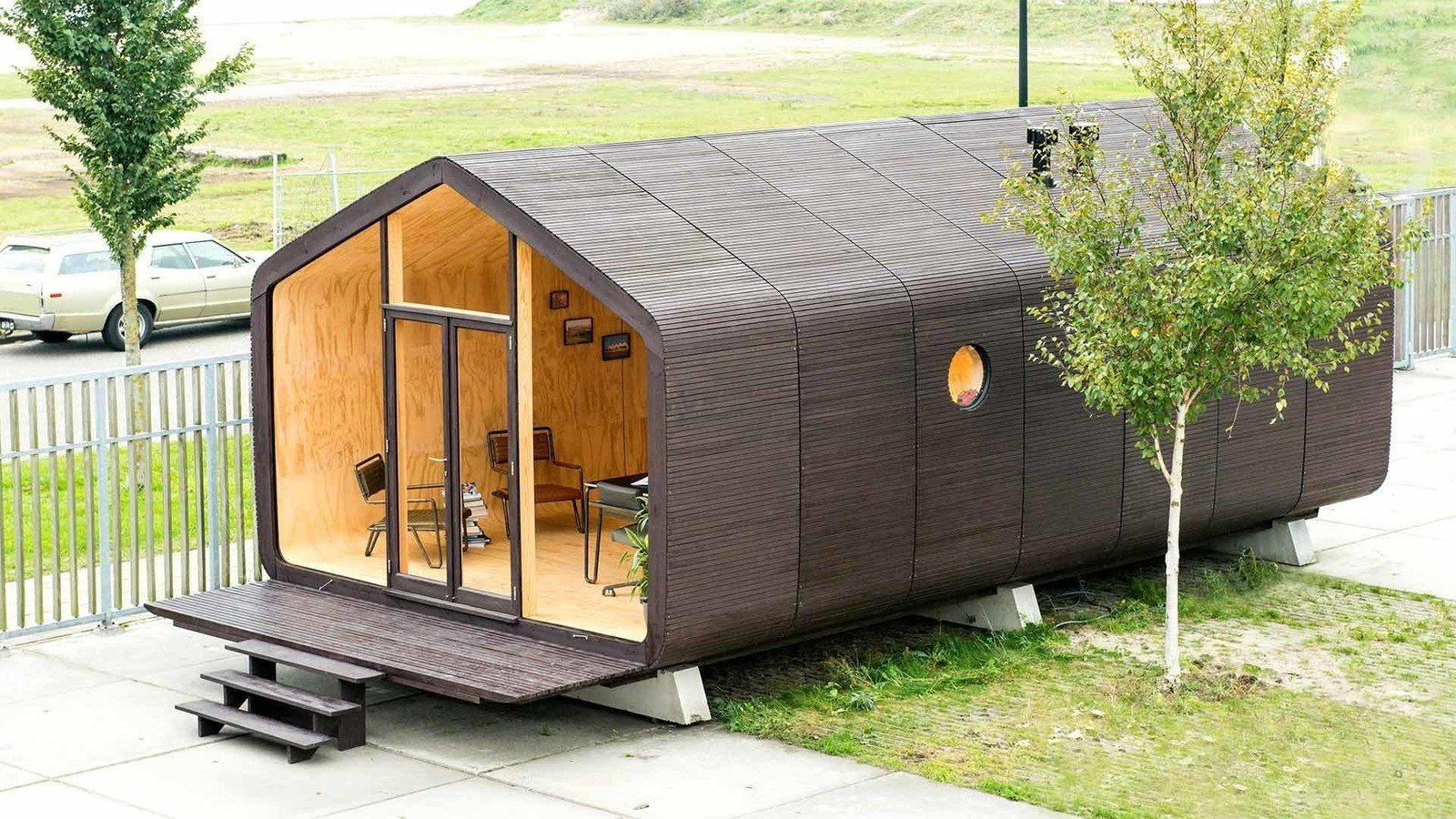Photo 1 of 12 in A Green, Lean, and Customizable Cardboard Prefab