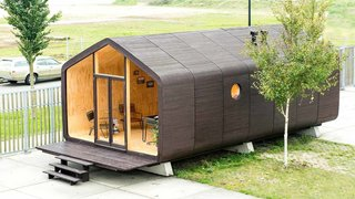 A Green, Lean, and Customizable Cardboard Prefab