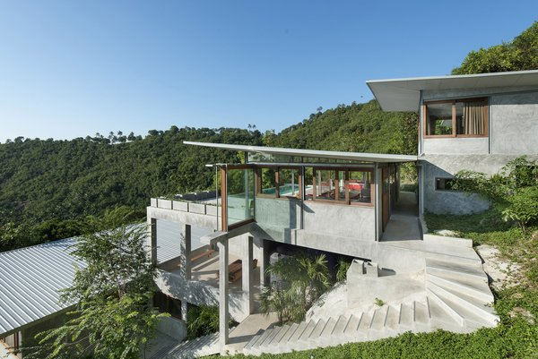 Take a Trip to This Photographer-Designed Concrete Home in Thailand - Photo 9 of 10 -
