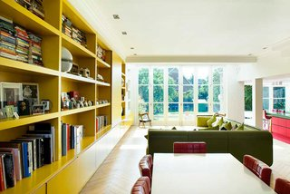 Bright Bauhaus Colors Fill This Brick Edwardian House in London - Photo 2 of 12 -