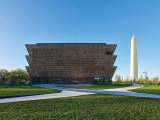The museum, with its final design by Freelon Adjaye Bond/SmithGroup—a collaboration between many participants—took decades to realize. It has been called the most important American structure of the 21st century.