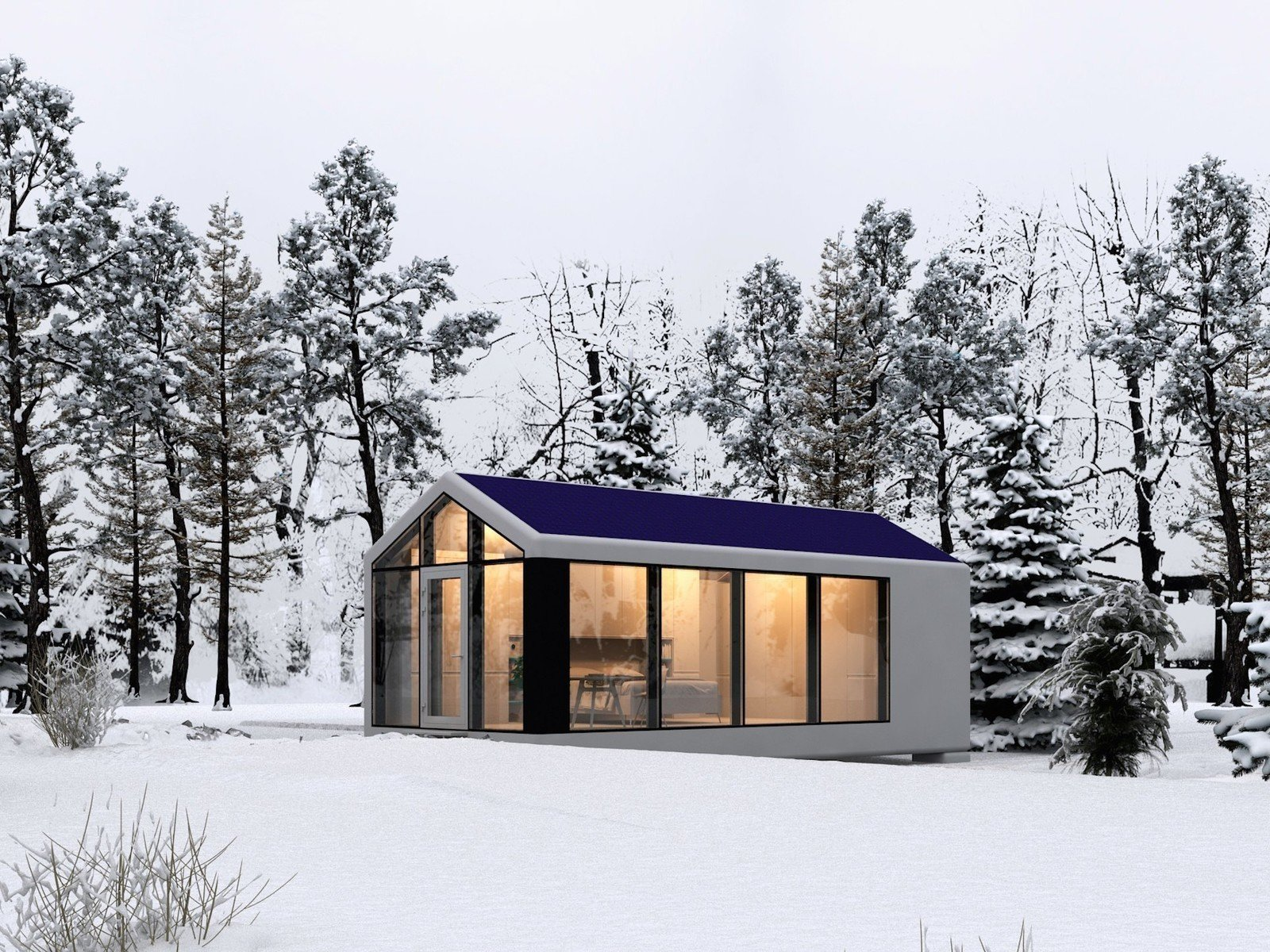 Outdoor  Photo 1 of 6 in This Zero-Energy Passive Mobile Prefab Was Partially 3D Printed