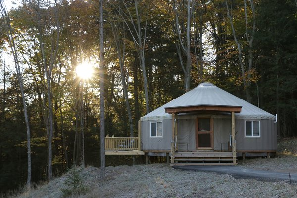 9 Yurt Vacation Rentals For the Modern Alternative Camper - Photo 4 of 9 -