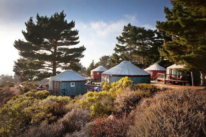 Photo 2 of 10 in 9 Yurt Vacation Rentals For the Modern Alternative Camper