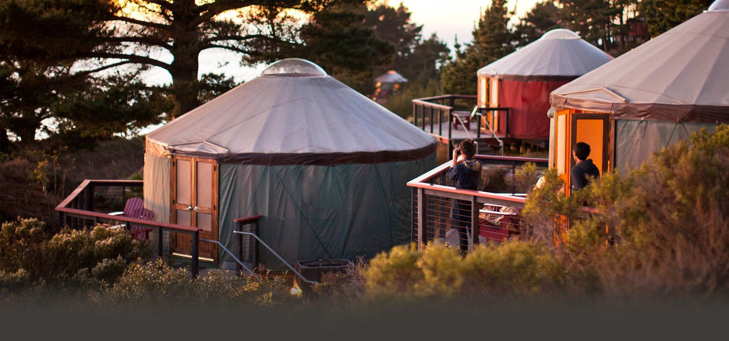 Photo 1 of 10 in 9 Yurt Vacation Rentals For the Modern Alternative Camper