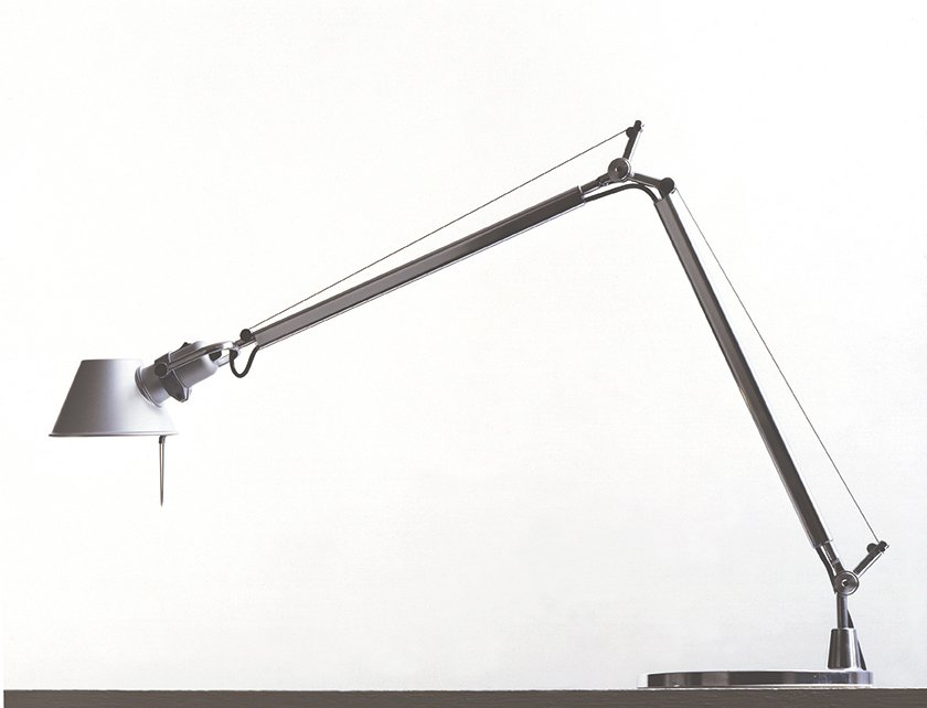 Tolomeo, 1987.  Designed in collaboration with Giancarlo Fassina for Artemide, this articulating  lamp is one of the  company's bestsellers.  artemide.com  Photo 13 of 14 in Michele De Lucchi