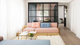 See How This Colorful Hong Kong Apartment Was Made to Feel Bigger Than it Actually Is - Photo 3 of 7 -