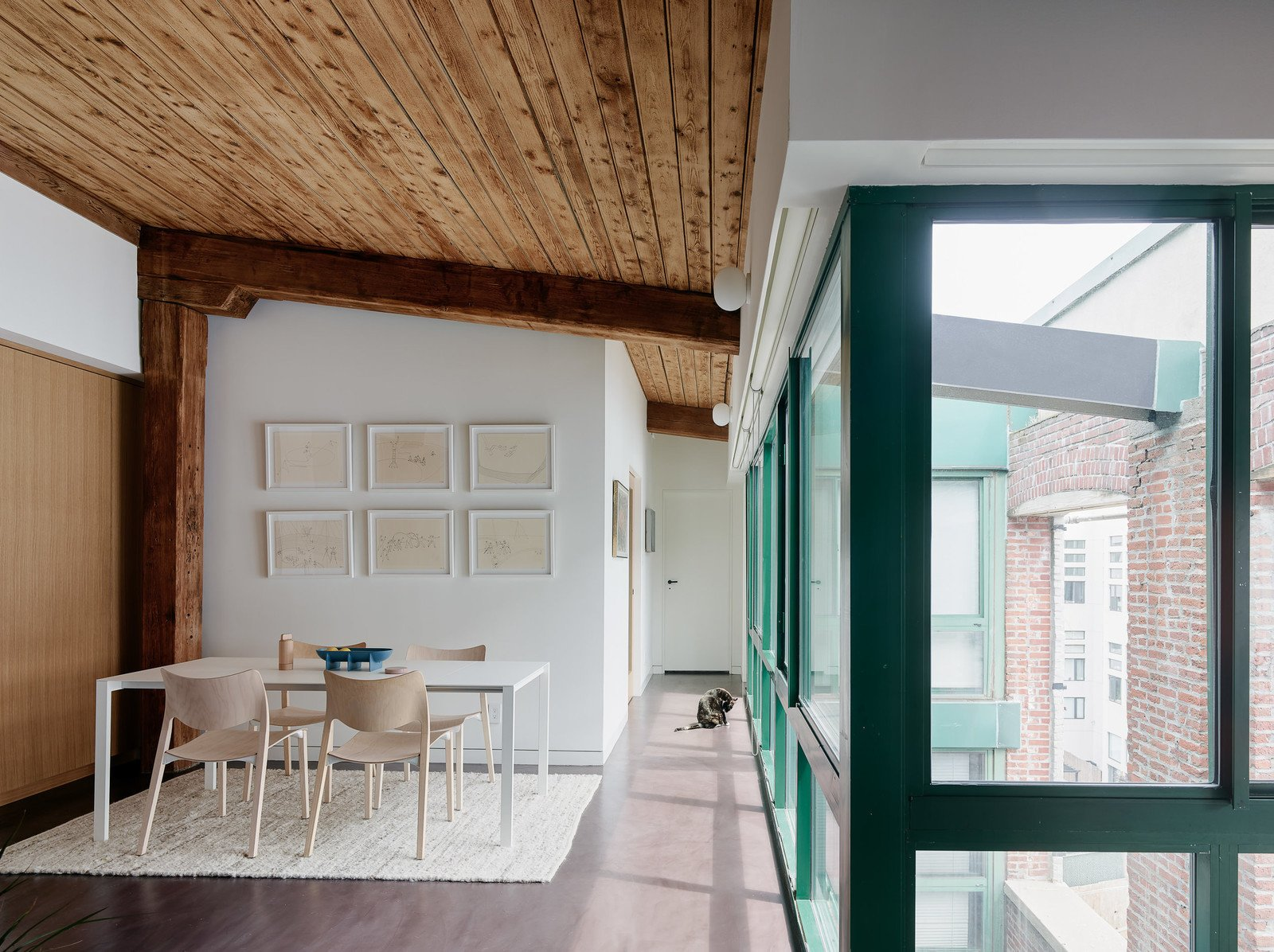 Photo 3 of 6 in Top 5 Homes That Use Wood in Interesting Ways