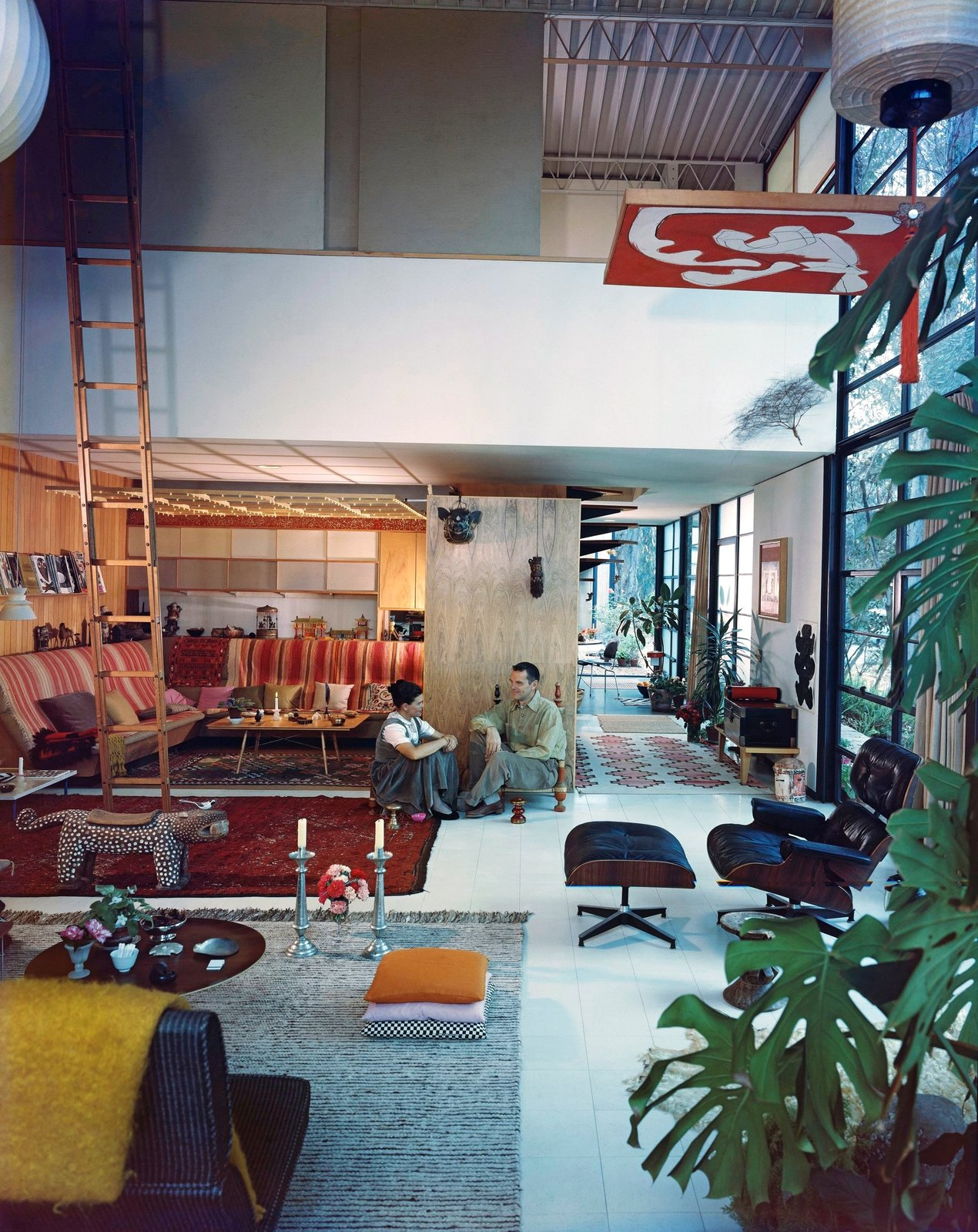 Eames House by Charles and Ray Eames, Pacific Palisades, CA 1949  Photo 3 of 11 in A New Book Celebrates Modernism With Futuristic Homes and Visionary Masterpieces