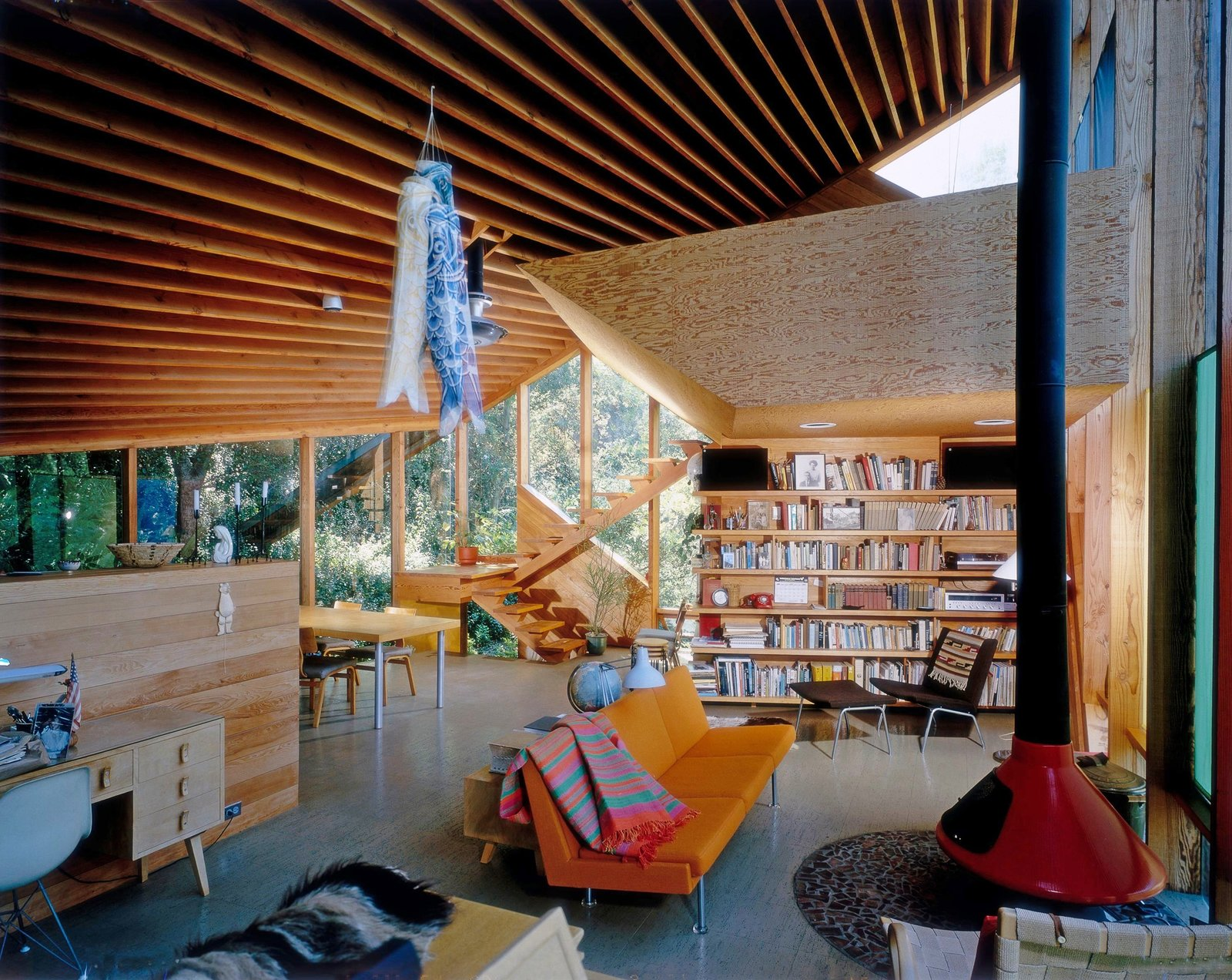 Walstrom House by John Lautner, Los Angeles, CA, 1979  Photo 9 of 11 in A New Book Celebrates Modernism With Futuristic Homes and Visionary Masterpieces
