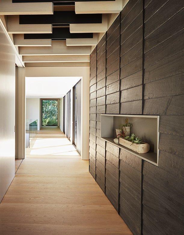 Hallway and Light Hardwood Floor  Promised Land