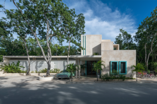 A New Modern Hotel Brings Midcentury Miami to Tulum, Mexico - Photo 1 of 8 -