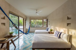 A New Modern Hotel Brings Midcentury Miami to Tulum, Mexico - Photo 4 of 8 -