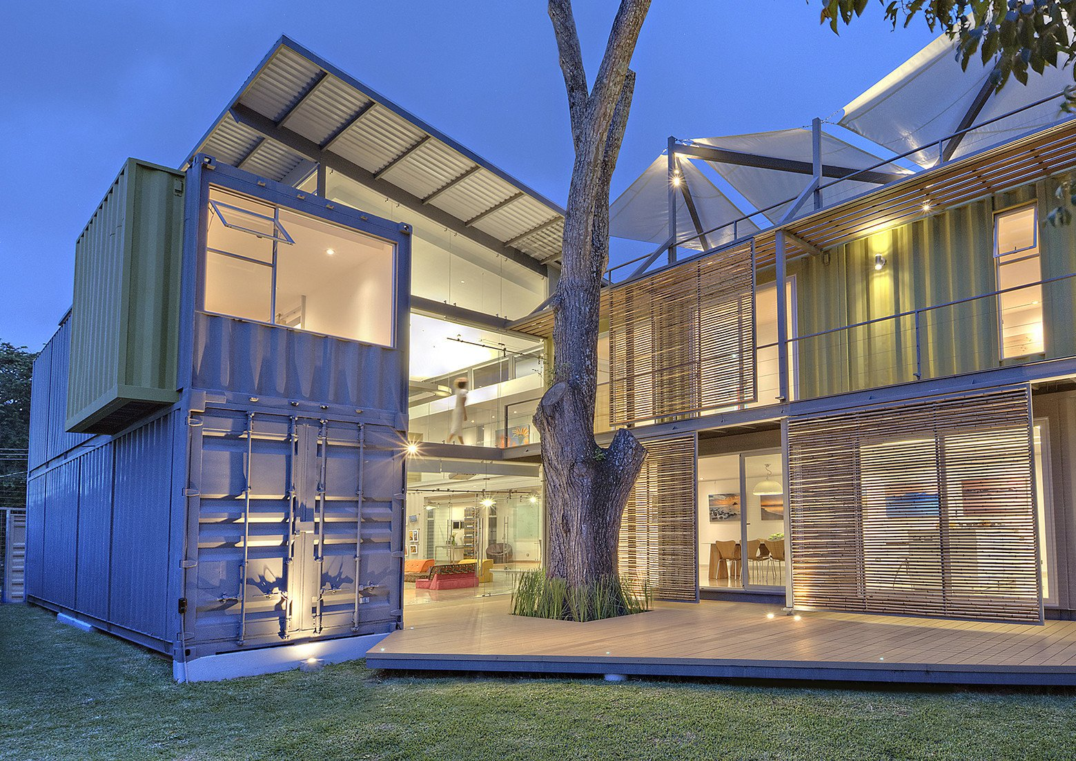 Articles about who knew relaxed tropical retreat could be made shipping containers on Dwell.com