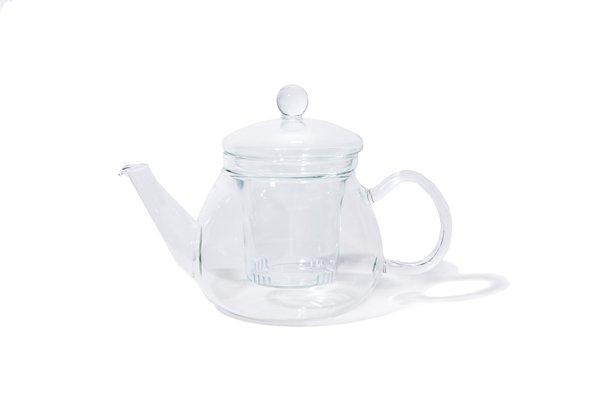 Heat-Resistant Glass Teapot