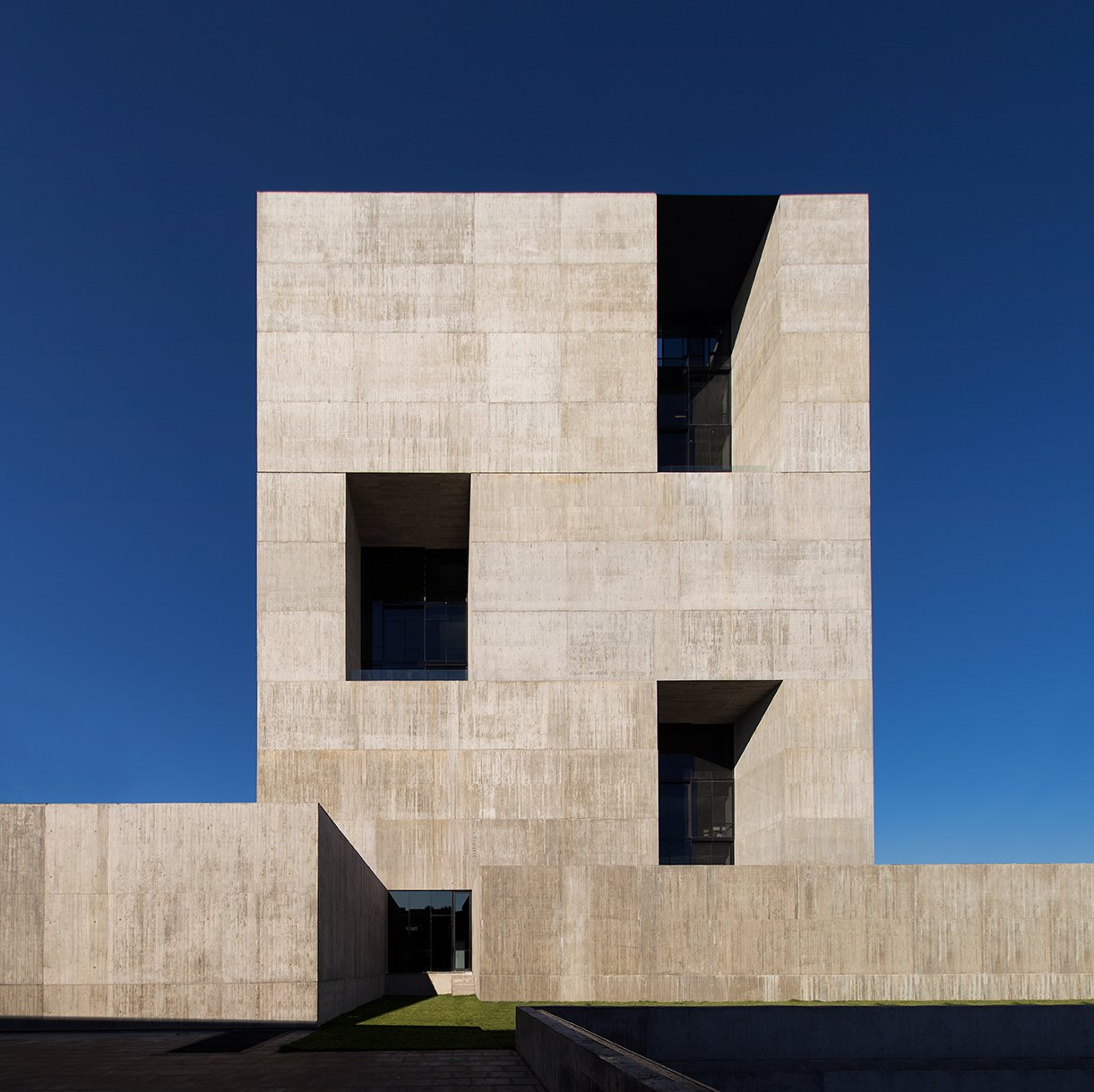 The 2014 Innovation Center—Anacleto Angelini is one of several buildings the architect has designed for his alma mater, the Universidad Católica de Chile.  Photo 5 of 6 in Profile: Alejandro Aravena
