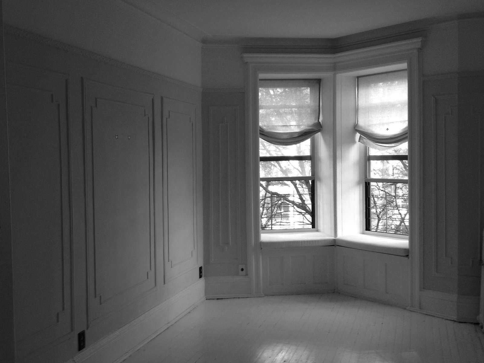 Windows  Photo 2 of 13 in A Pair of Designers Renovate Their Brooklyn Brownstone With a Bright Monochromatic Palette