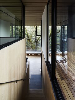 Nature Drove the Design of This Sculptural, Cor-Ten Steel House in Northern California - Photo 7 of 13 -