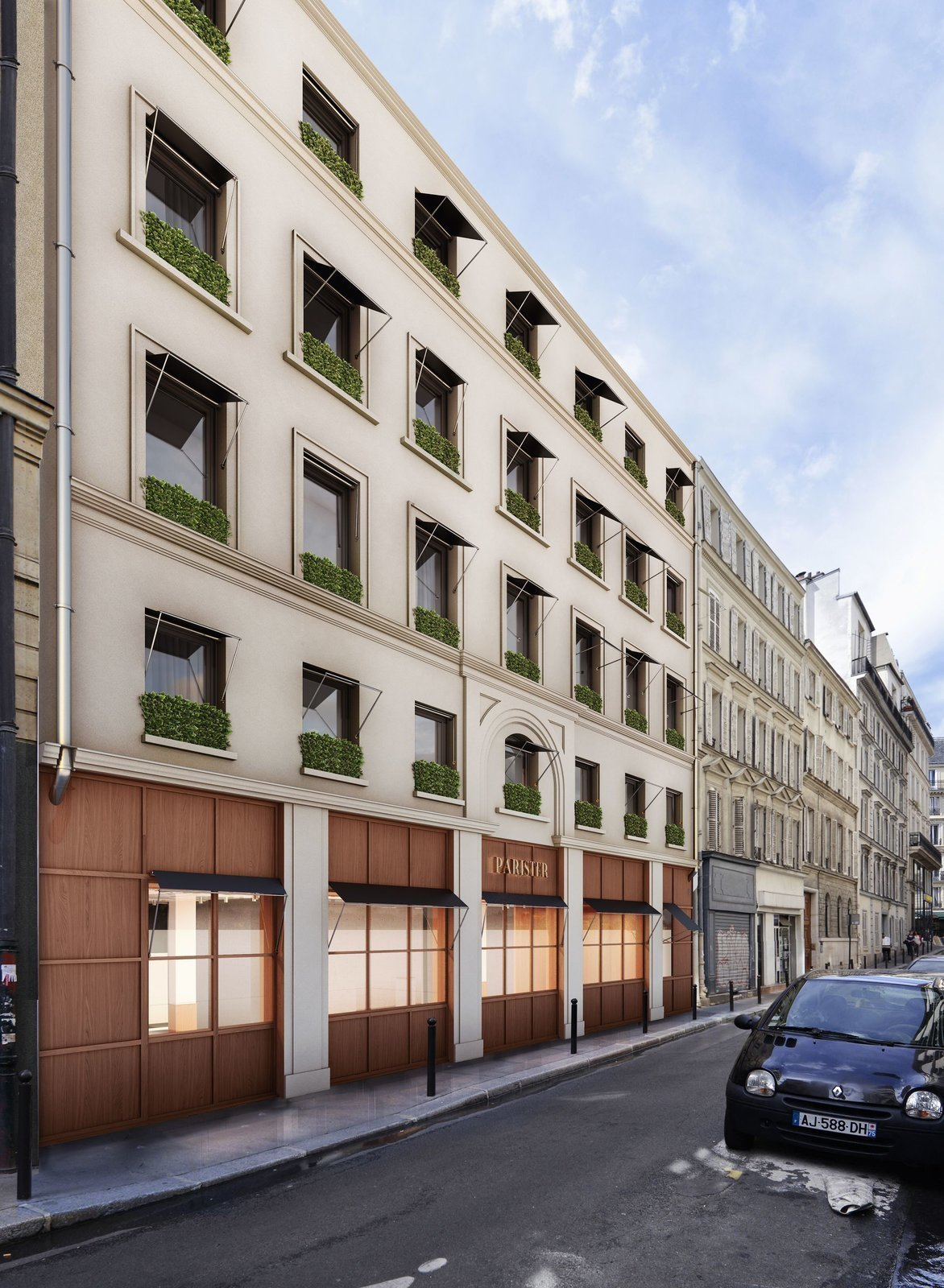 Exterior  Photo 3 of 8 in A New Hotel in Paris That's Designed to Give Guests a Taste of Modern Parisian Living