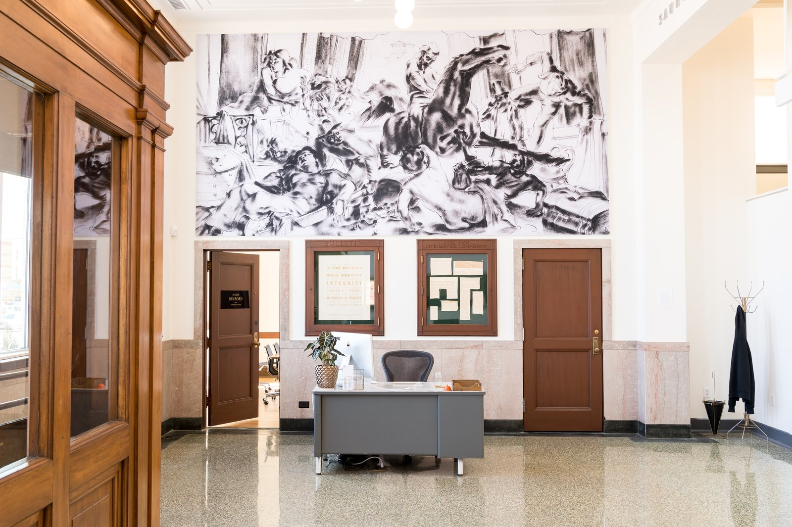 A Historic U.S. Post Office Is Transformed Into A Digital Agencyu0027s New Modern  Office