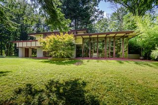 The Frank Lloyd Wright-Designed Louis Penfield House in Ohio Is For Sale For $1.3M