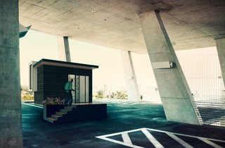 An Austin Prefab Company Debuts a Tiny Office You Can Build in Four Hours - Photo 1 of 1 -