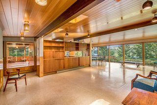 A Waterfront Washington Home Designed by a Renowned Spokane Architect Is Listed For $675K - Photo 1 of 10 -