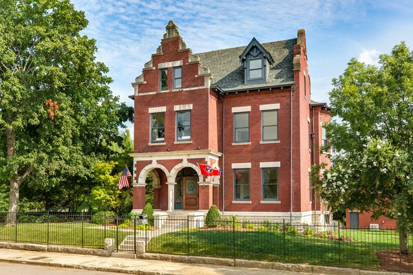 Modern Interiors Shine Behind the 19th-Century Facade of This Nashville Home, Now Asking $2.1M