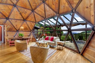 It Took Seven Years to Build This Geodesic Dome by Hand—and it's Now Listed For $889K - Photo 2 of 11 -