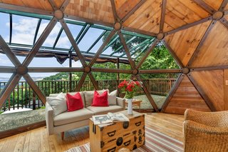 It Took Seven Years to Build This Geodesic Dome by Hand—and it's Now Listed For $889K - Photo 5 of 11 -
