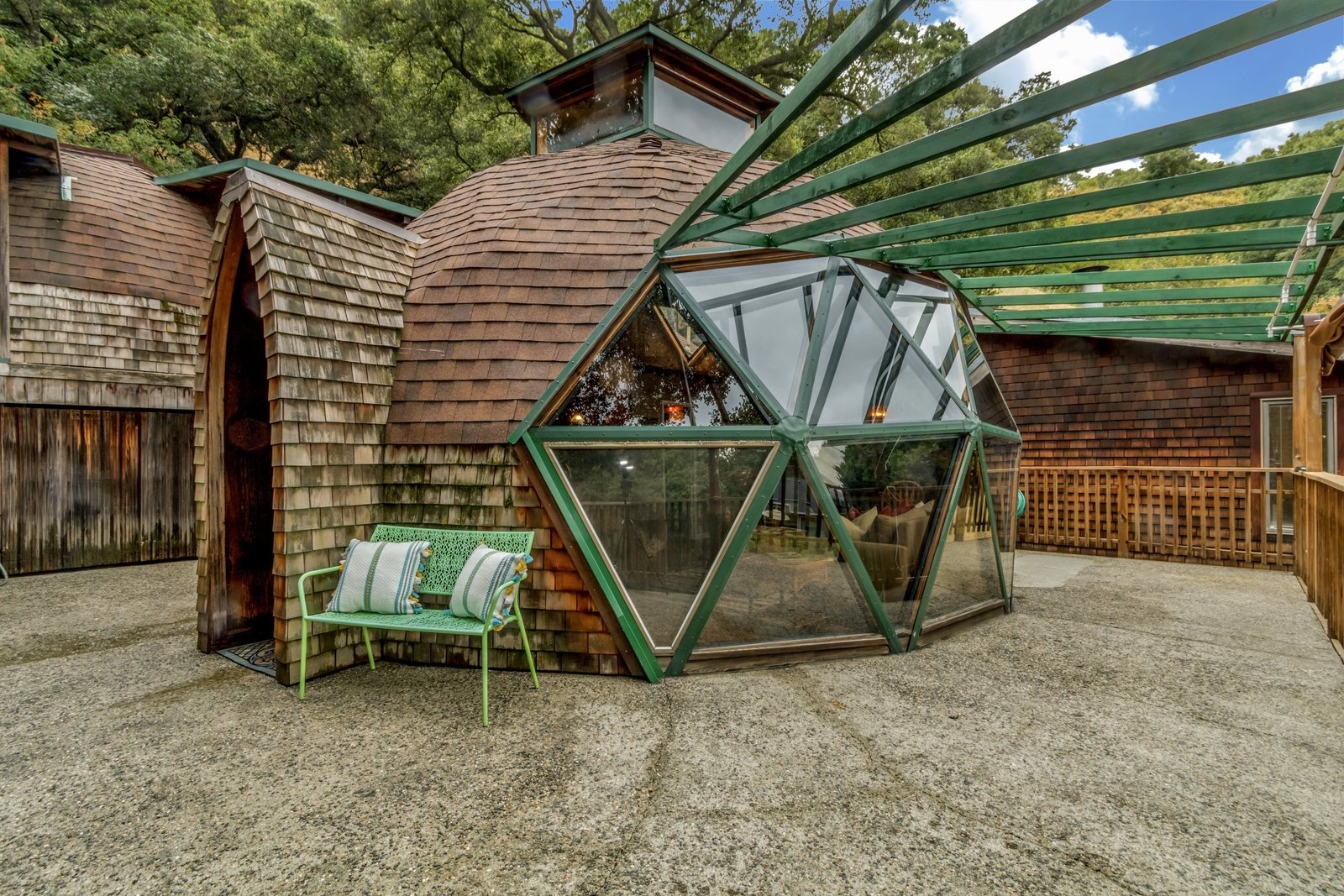 It Took Seven Years To Build This Geodesic Dome By Hand