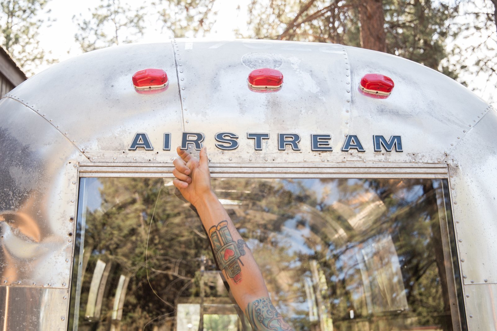 Photo 2 of 25 in See How an Oregon Couple Renovated Their 1966 Airstream