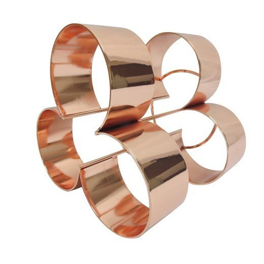 Modern by Dwell Magazine Copper Wine Rack