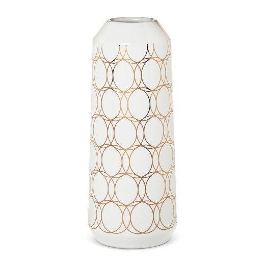 Modern by Dwell Magazine Stoneware Metallic Vase - Large