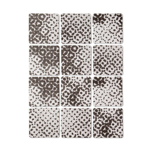 Modern by Dwell Magazine Coasters - Metallic Dot (12ct)