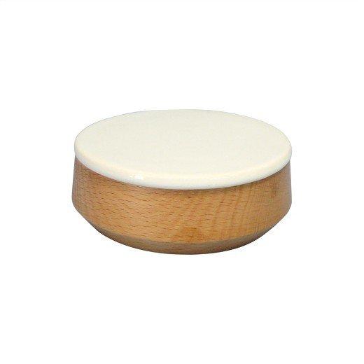 Modern by Dwell Magazine Stoneware Salt Cellar With Wooden Spoon