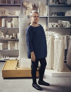 Nina Libeskind on Ground Zero, How Architecture Can Help Heal, and Our Political Moment - Photo 1 of 4 - Nina Libeskind in the New York City offices of Studio Libeskind.