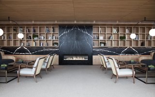 Spain's Basque Coast Gets a New Modern Hotel With a Michelin-Starred Restaurant - Photo 3 of 12 - The hotel is filled with natural materials such as stone, wood, and linen.