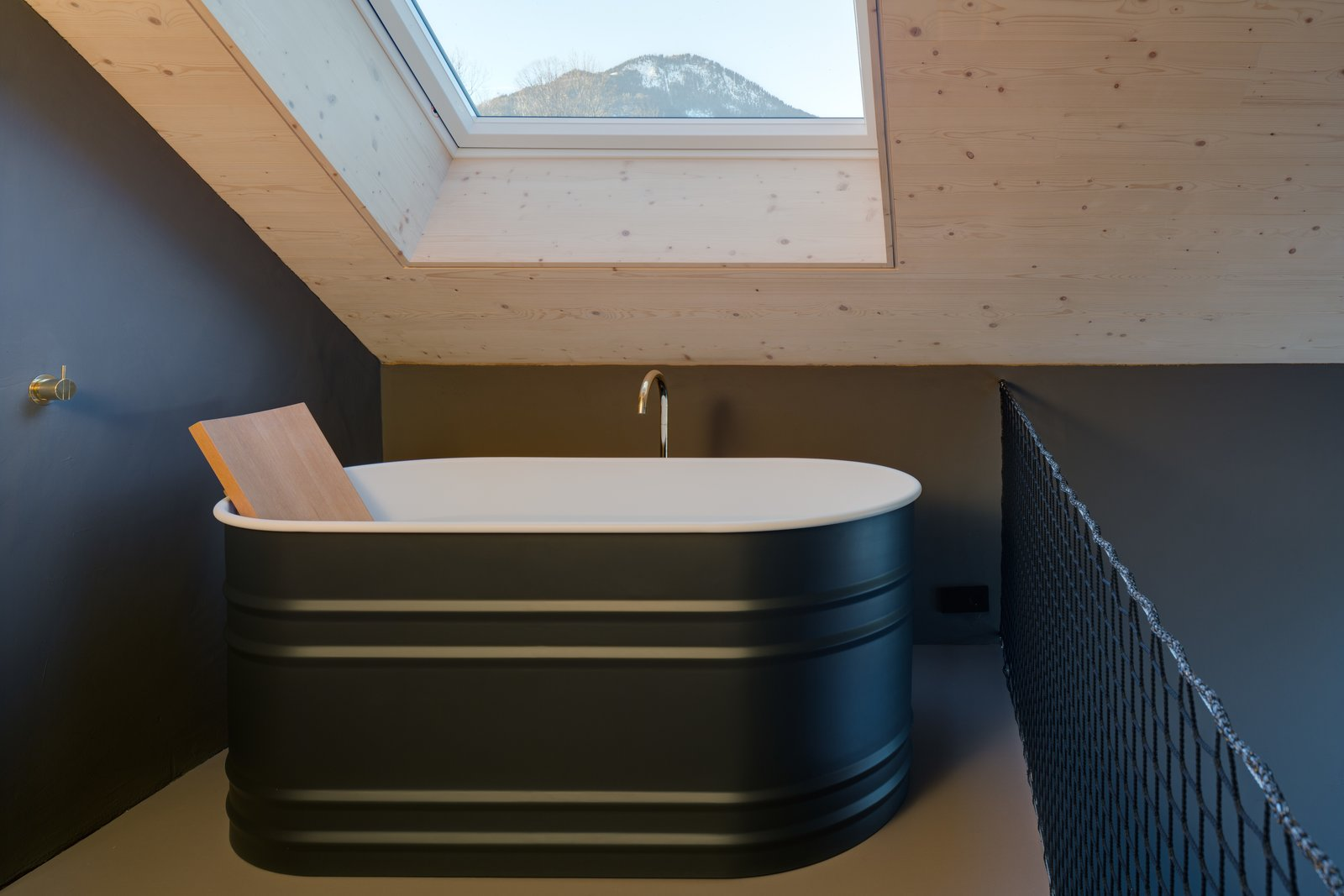 Bath Room and Freestanding Tub  Photos from A Peaceful Bavarian Retreat With Expansive Outdoor Terraces