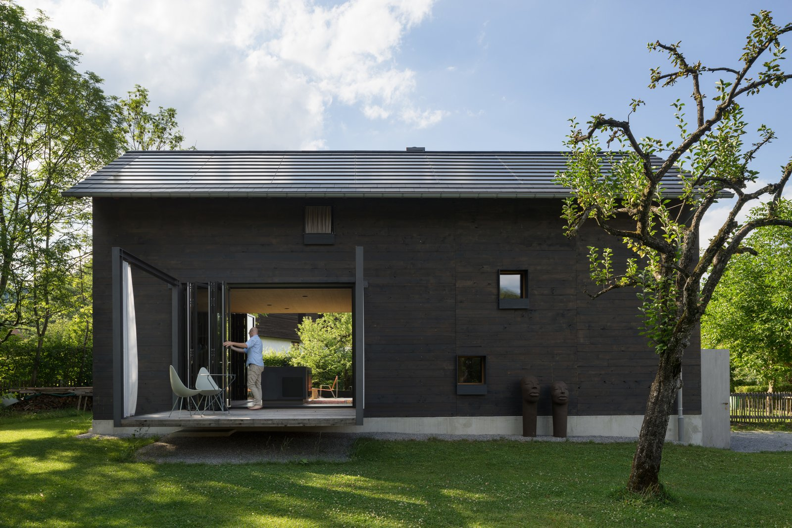 Exterior, House Building Type, Shingles Roof Material, Wood Siding Material, and Gable RoofLine  Gut Feeling from A Peaceful Bavarian Retreat With Expansive Outdoor Terraces