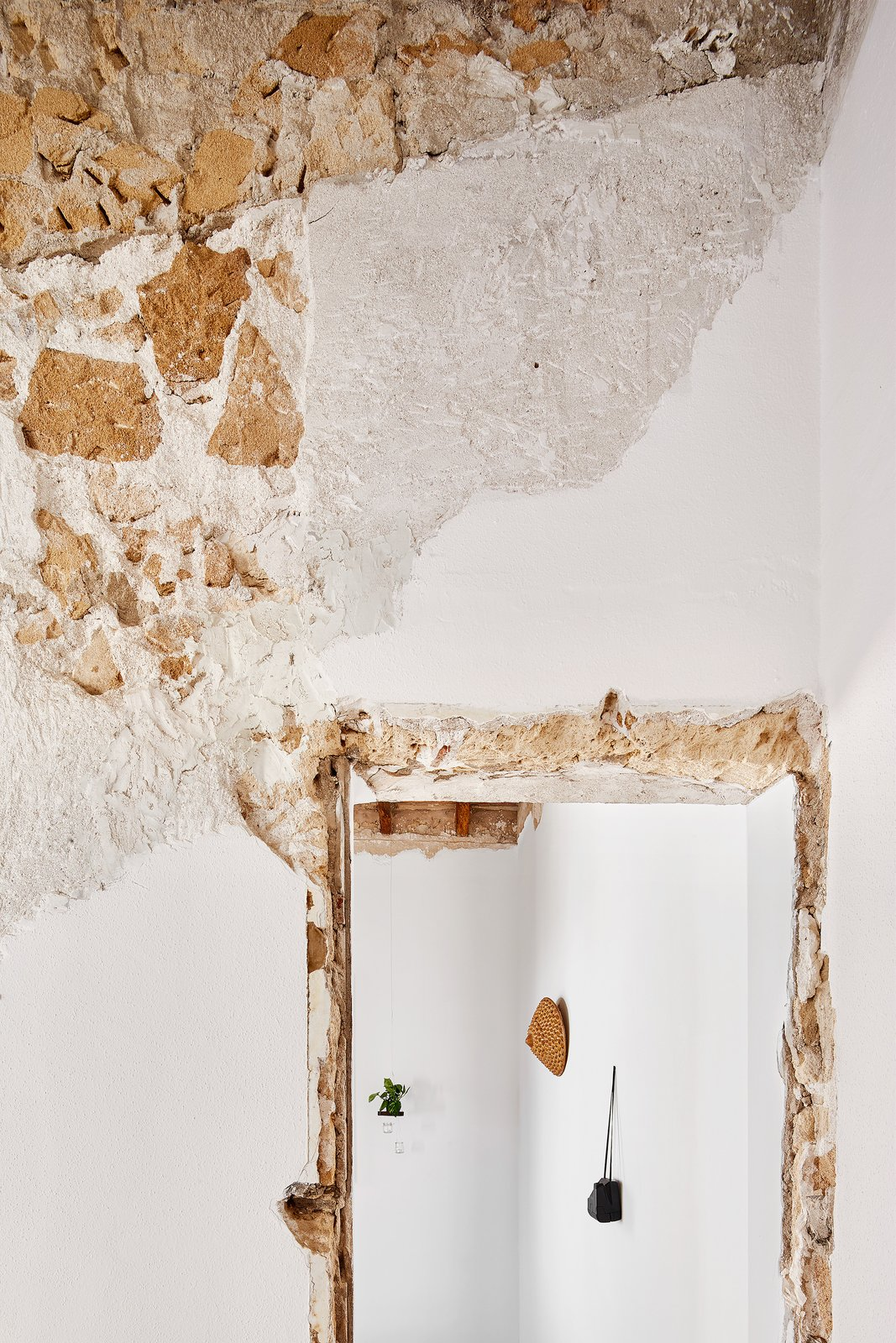 Doors and Interior  Photo 3 of 13 in A Salvaged Apartment on Mallorca Leaves its Roots Exposed