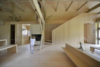 An Old Cattle Barn in Slovenia Is Saved and Transformed Into a Family Home