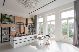 An Old Amsterdam School Is Converted Into 10 Apartments - Photo 3 of 15 -