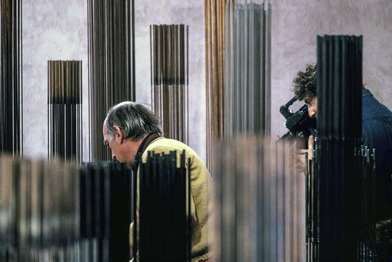 Photo 9 of 15 in A New Box Set Captures Harry Bertoia at the Sonambient Barn