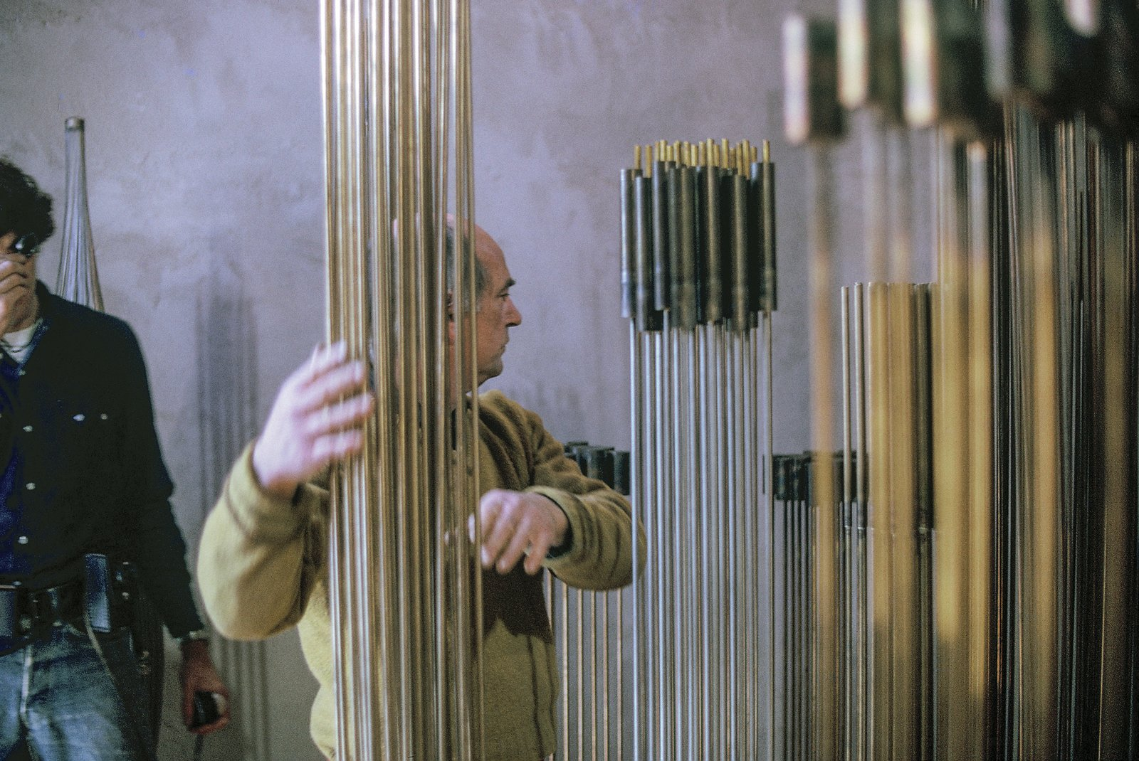 Photo 12 of 15 in A New Box Set Captures Harry Bertoia at the Sonambient Barn
